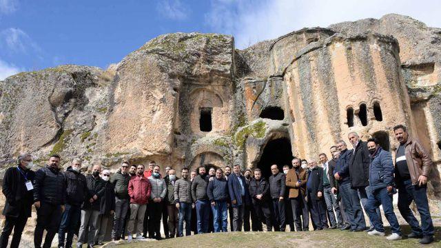 TÜRSAB Konya'dan Afyonkarahisar gezisi