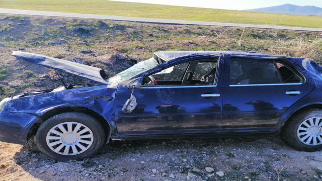 Anne ile kızlarını kaza ayırdı