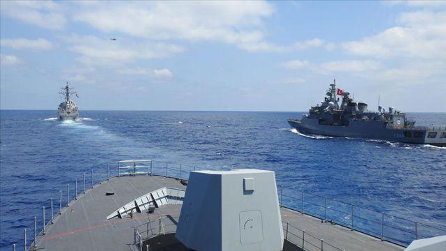 Araştırmaya göre Türk donanması, Doğu Akdeniz'deki en güçlü donanma