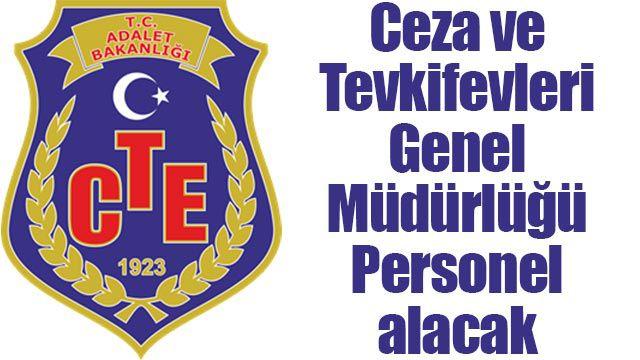 Ceza ve Tevkifevleri Genel Müdürlüğü Personel alacak