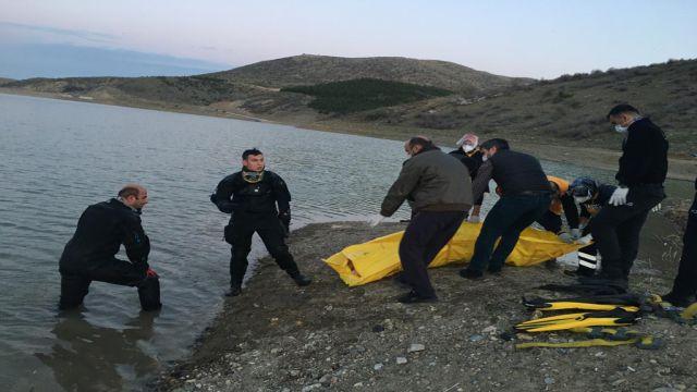 Gölete giren çocuk boğuldu