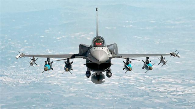 Irak'ın kuzeyinde 9 PKK'lı terörist hava harekatıyla etkisiz hale getirildi
