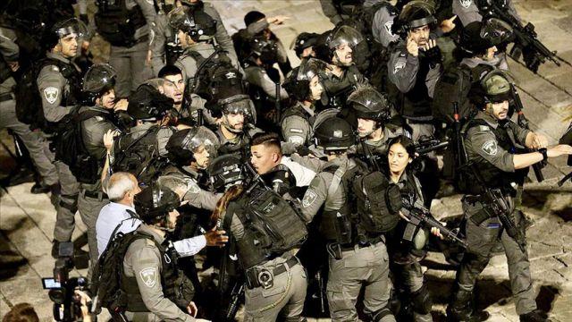İsrail polisinin müdahalede altıncı gününde