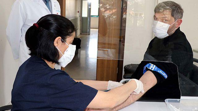 İstanbul-Kayseri aşı gönüllüsü hattı