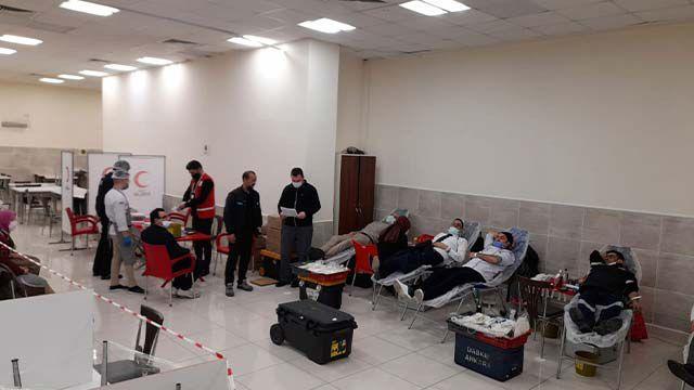 Konya Şeker'de, kan bağışı kampanyası