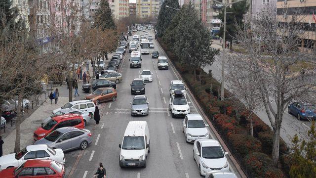 Konya'da motorlu kara taşıt sayısı arttı
