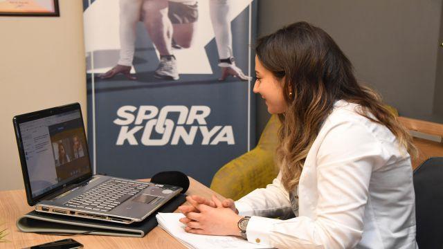 Konya'da 'online spor' uygulaması