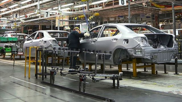 Sakarya'dan 1,3 milyar dolarlık otomotiv ihracatı