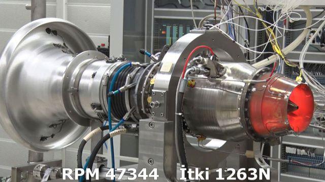 Türkiye'nin ilk orta menzilli füze motoru rekor kırdı