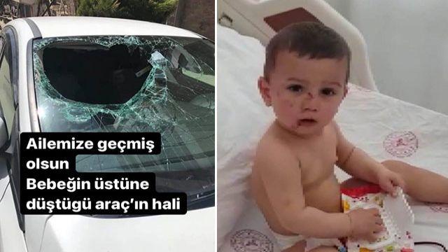 6'ncı kattan düşen 2 yaşındaki çocuğun mucize kurtuluşu