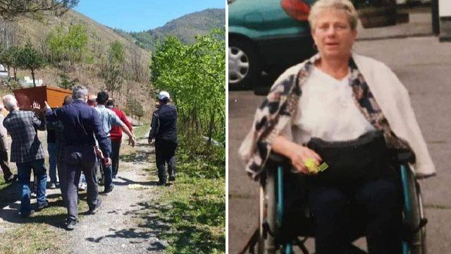 Alman Renata, Trabzon'da defnedildi