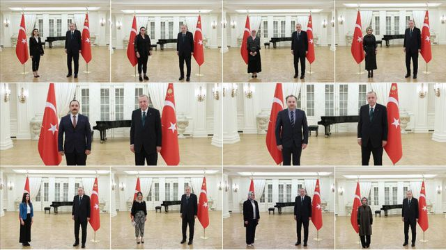 Erdoğan öğretmenlerle iftar yaptı