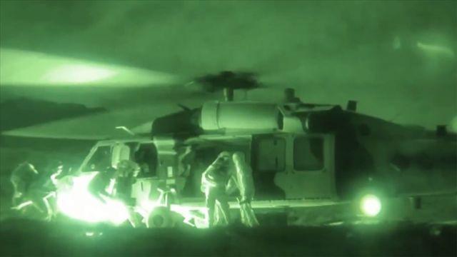 Operasyonlar kapsamında terörist mevzileri Türk Hava Kuvvetlerince imha ediliyor