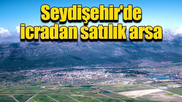 Seydişehir'de icradan satılık arsa