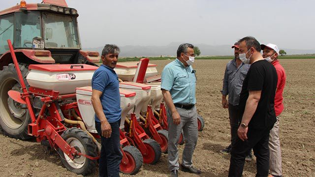 Tarım arazileri değerlendiriliyor