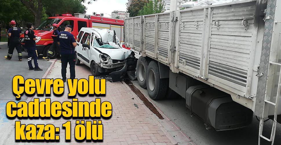 Çevre yolu caddesinde kaza 1 ölü