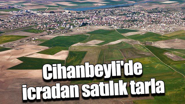 Cihanbeyli'de icradan satılık tarla
