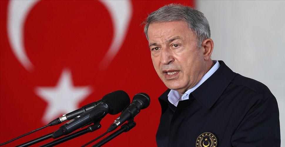 Milli Savunma Bakanı Akar'dan 'terörü bitireceğiz' mesajı