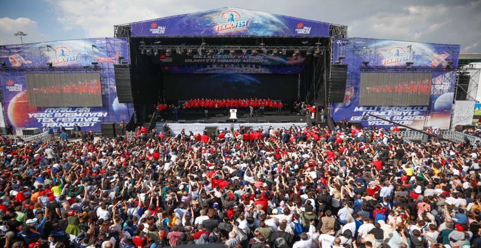 Cumhurbaşkanı Erdoğan TEKNOFEST'te konuştu