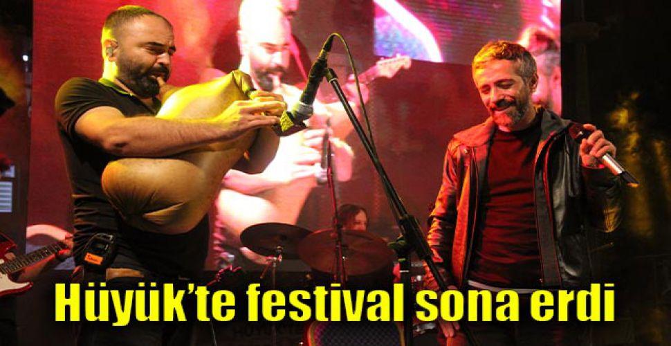 Hüyük'te festival sona erdi