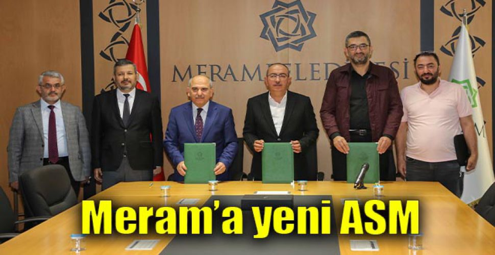 Meram'a yeni ASM