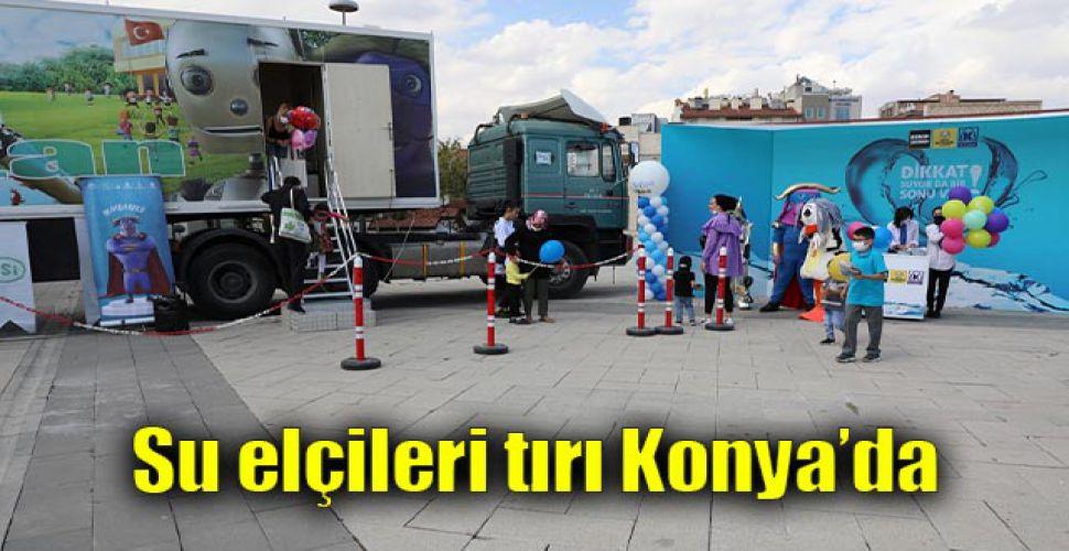 Su elçileri tırı Konya'da