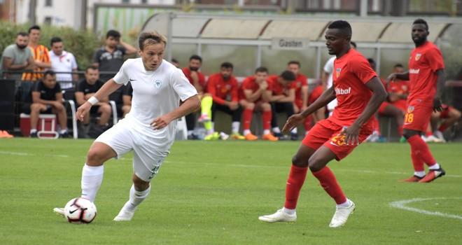 Konyaspor, Kayserispor'a yenildi