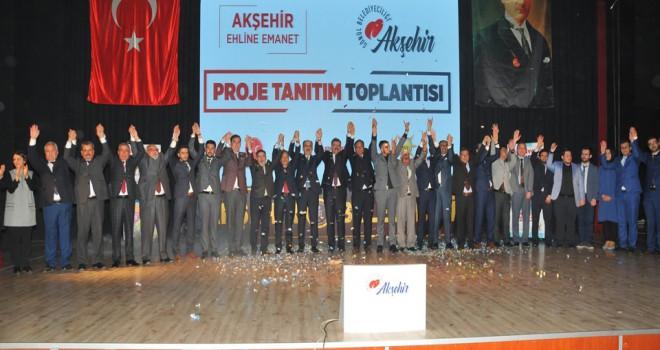 Akkaya'dan 81 yeni proje