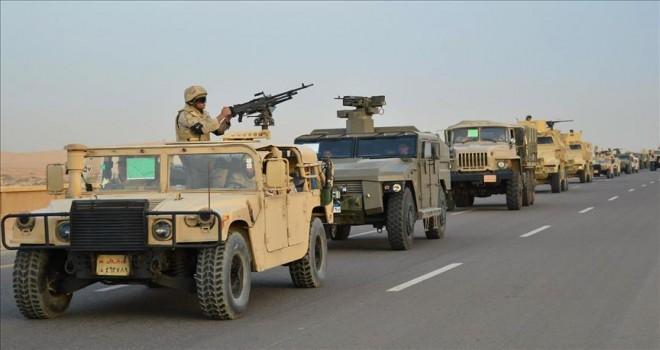 Mısır ordusunun Sina'daki operasyonları sürüyor