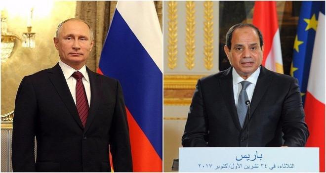 Putin ile Sisi telefonda görüştü