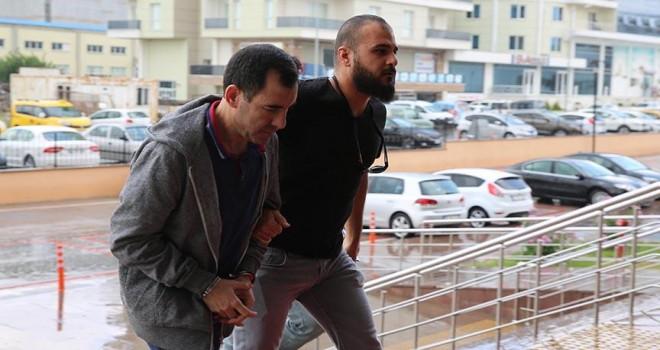 Hakim Yunanistan'a kaçarken yakalandı