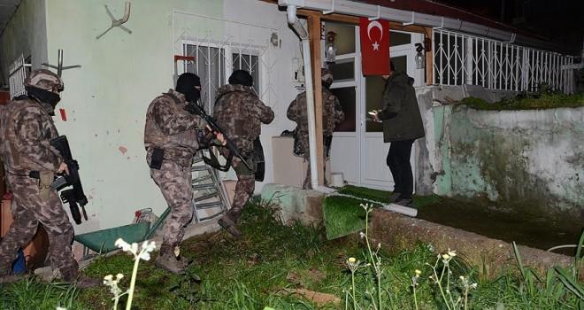 İstanbul'da hava destekli uyuşturucu operasyonu