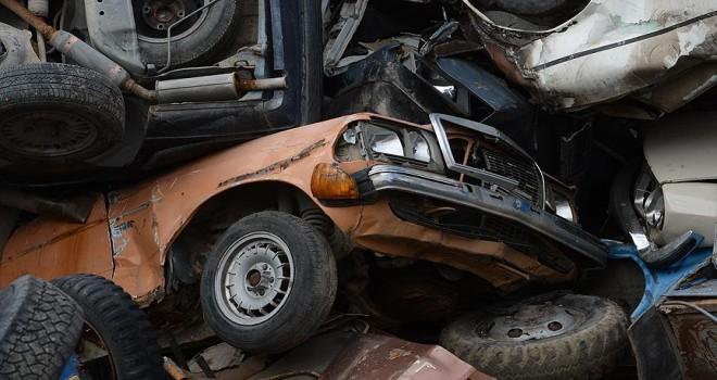 14 bin 645 araç hurdaya ayrıldı