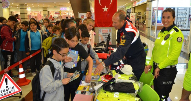 Ereğli'de 'Trafik Haftası' etkinlikleri