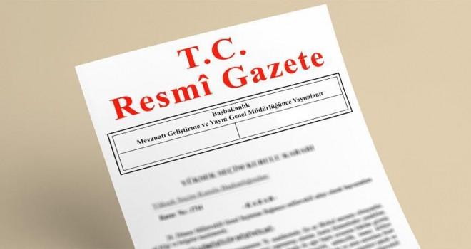 Cumhurbaşkanı onayladığı kanun Resmi Gazete'de