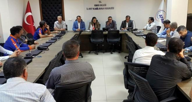 AFAD-SEN BaşkanıÇelik'ten Konya ziyareti
