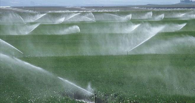 Tarım yatırımlarında sulama dopingi