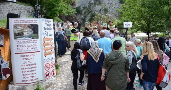 Bosna Hersekli Müslümanlar Blagay Tekkesi'nde buluştu