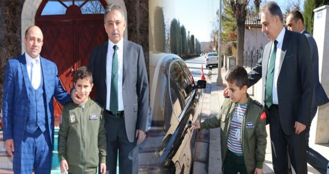 Konya Valisi küçük Halil'in isteğini geri çevirmedi