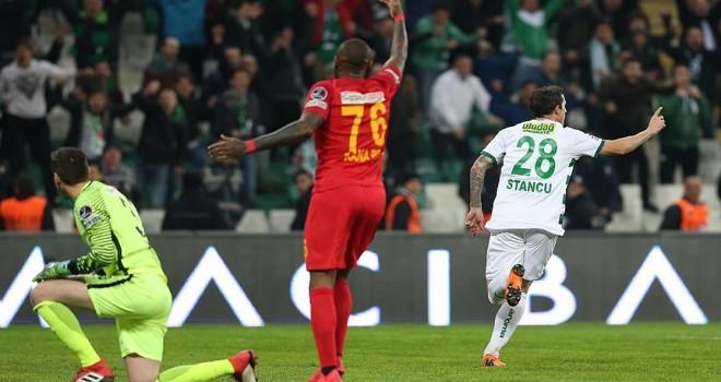 Bursaspor haftalar sonra kazandı