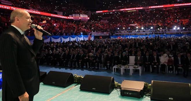 Cumhurbaşkanı Erdoğan seçim manifestosunu açıkladı