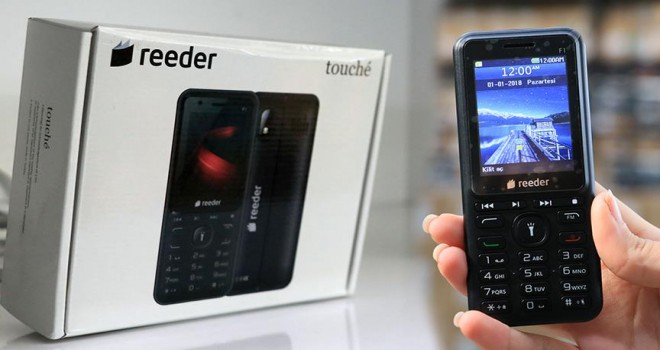 Tuşlu telefon F1 piyasaya sürüldü