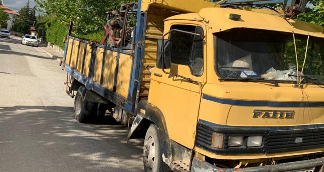 Korkutan kamyon