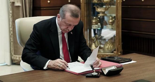 Cumhurbaşkanı Erdoğan 16 üniversiteye rektör atadı