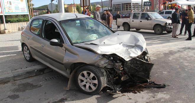 Beyşehir'de zincirleme kaza