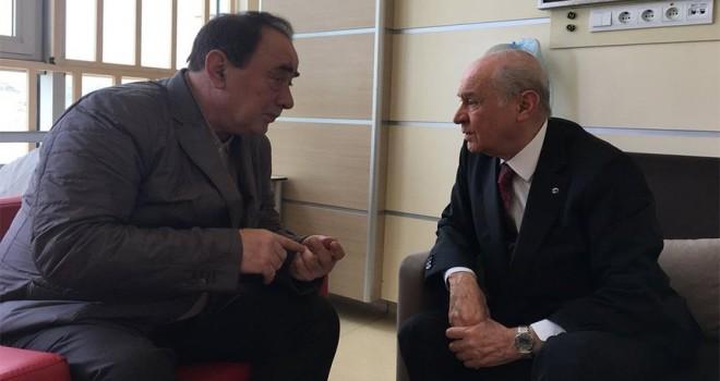 MHP Genel Başkanı Bahçeli'den Çakıcı'ya ziyaret