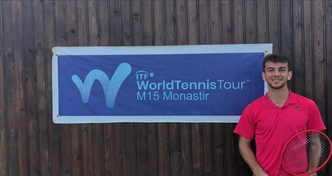 Milli tenisçi Ergi Kırkın Tunus'ta zirvede yer aldı