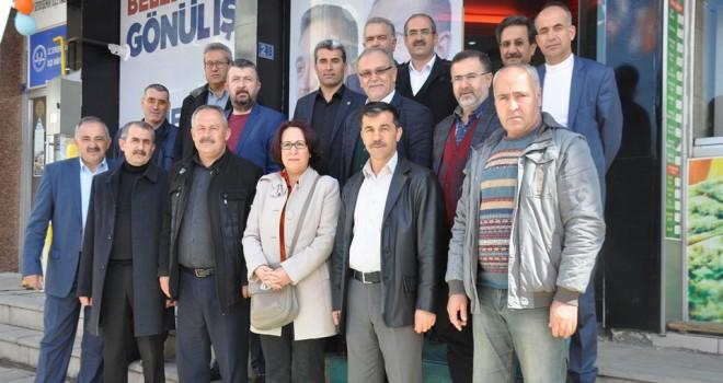 SSTK'lar seçim bürolarını gezdi