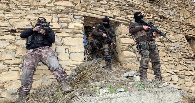 Siirt'te terör örgütü PKK'ya operasyon