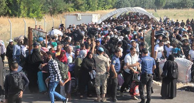 Ülkesine bayrama gidenlerin sayısı 18 bine ulaştı
